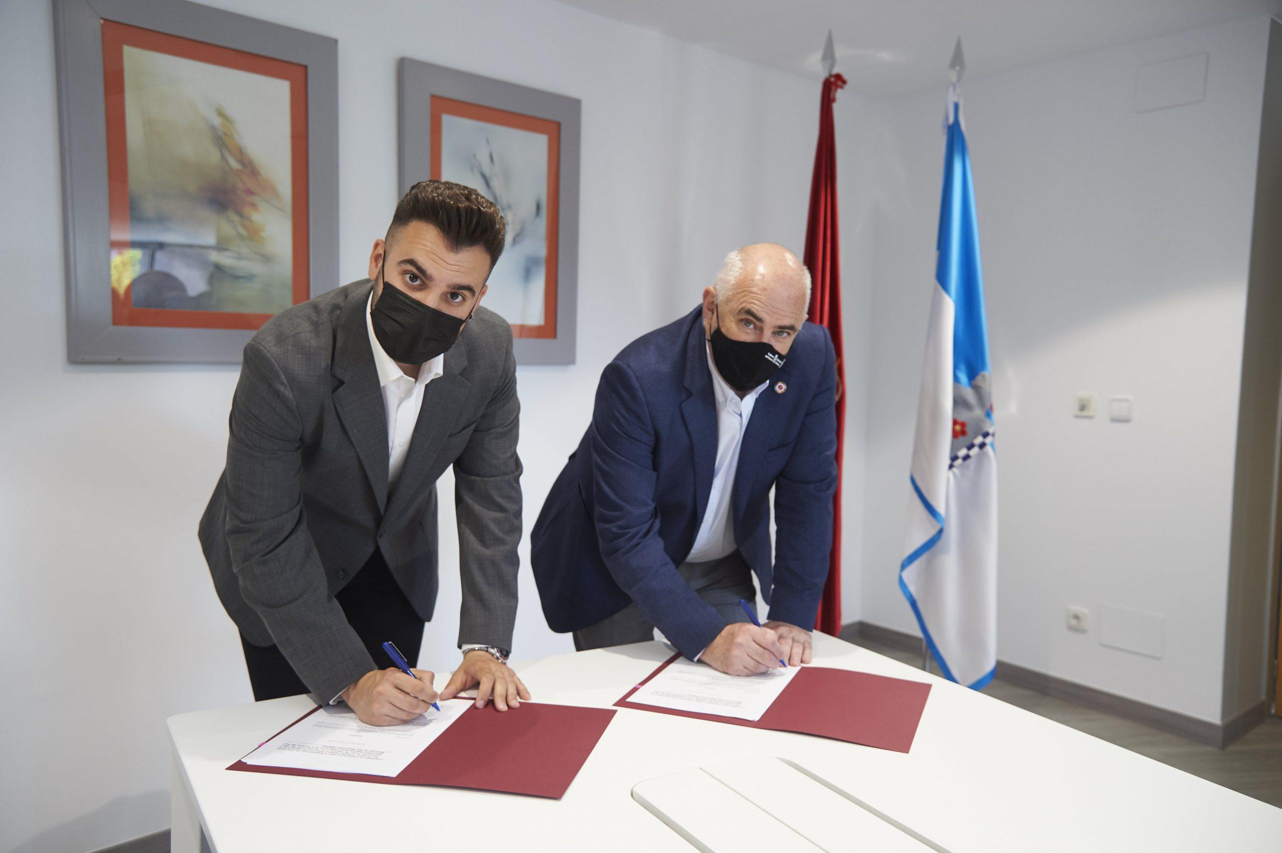 El Gobierno foral y el Ayuntamiento de Zizur Mayor firman dos convenios para promover el urbanismo sostenible y la vivienda de alquiler